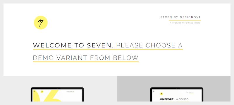 Sete temas wordpress criar website agência de fotógrafo criativo 2