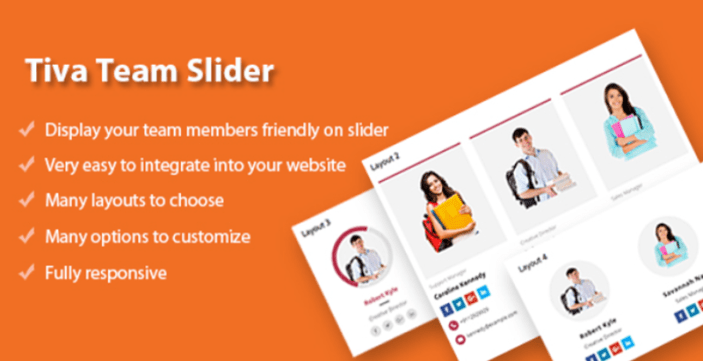 Tiva team slider for wordpress