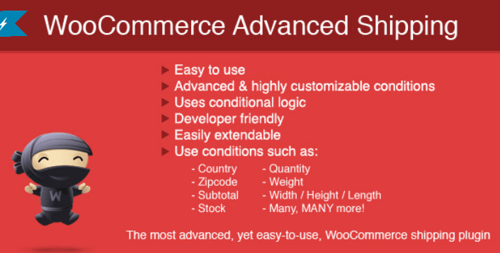 Woocommerce advanced shipping 2