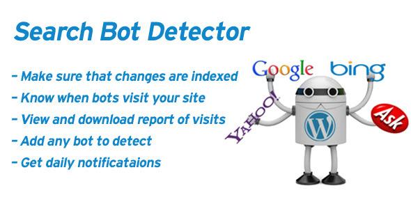 WordPress ค้นหาตรวจจับ Bot