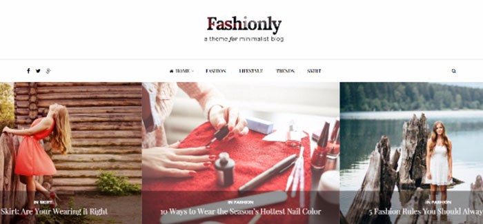 10 temas de WordPress para el sitio web de la moda | BlogPasCher
