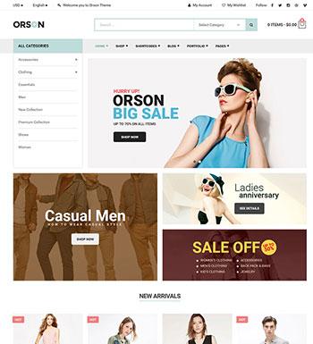 Orson – Un Thème WordPress Pour Site Web De ECommerce