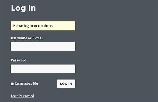 özel giriş sayfası teması giriş eklentim WordPress