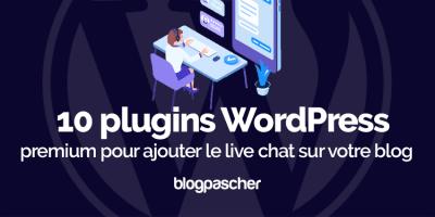 Plugin Wordpress Přidat blog živého chatu
