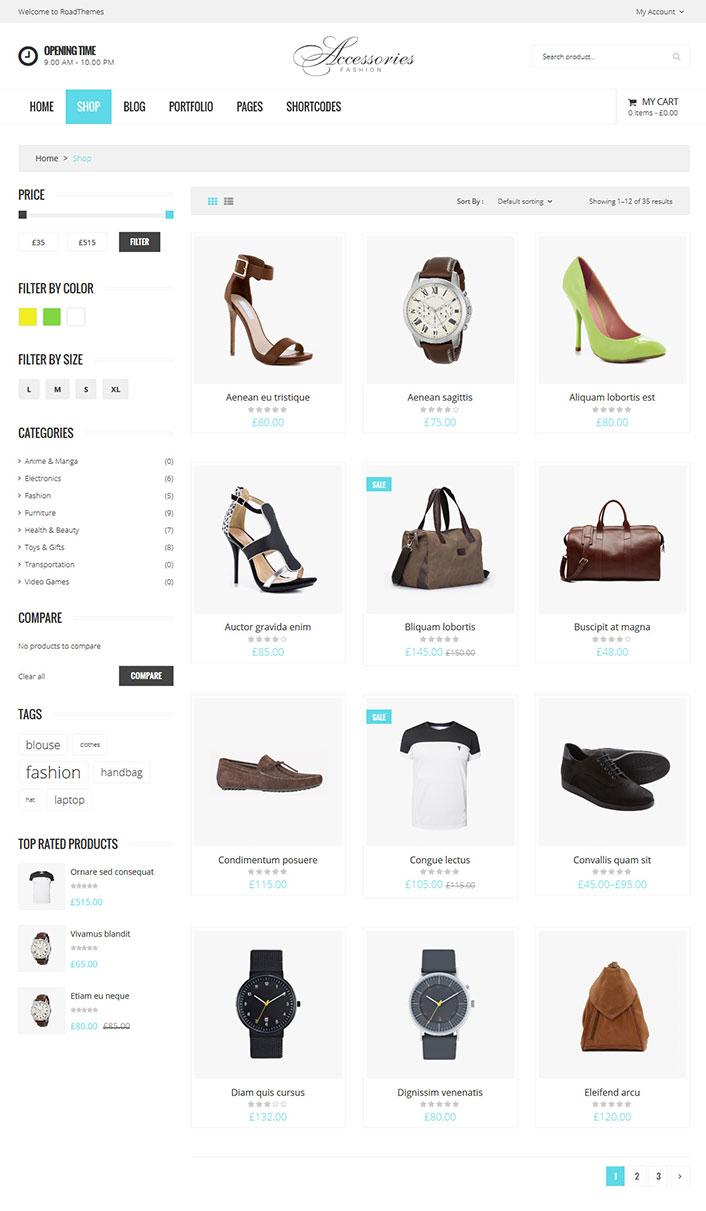 WooAccessories - Un tema de WordPress para el comercio electrónico ...