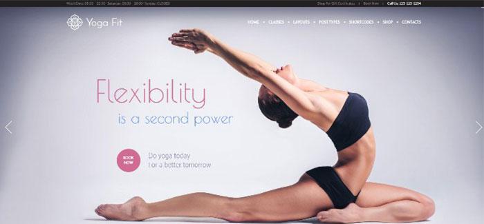 YogaFit 10-WordPress-тема-клуб-спортивный фитнес-blogpascher