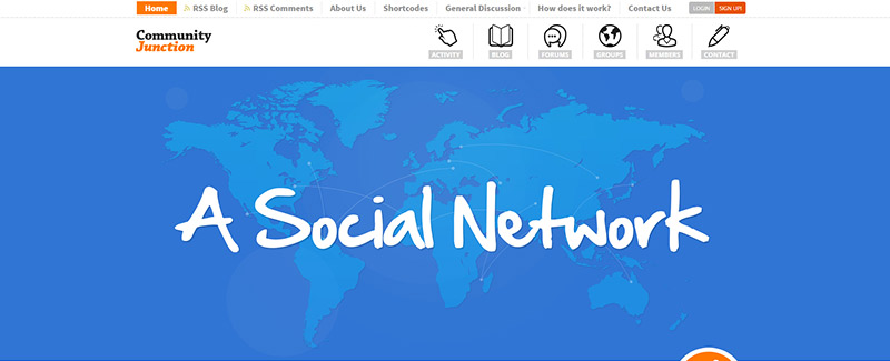 10 WordPress temas para crear una red social | BlogPasCher