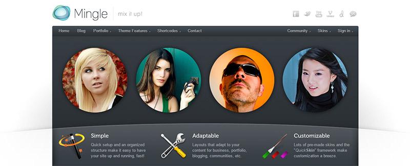 10 WordPress temas para crear una red social   BlogPasCher