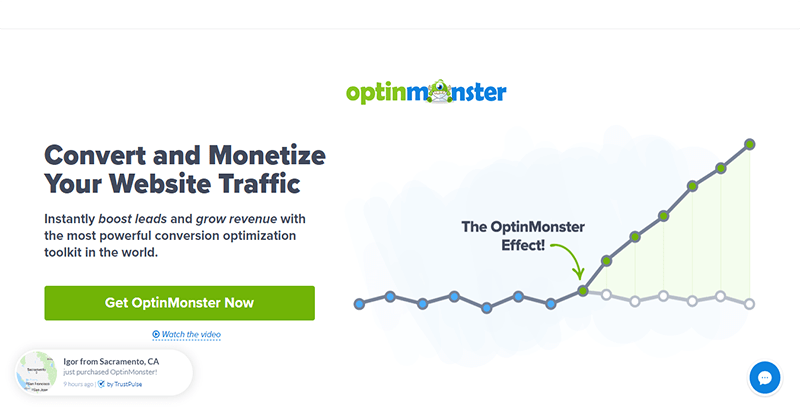 Optinmonster plugin wordpress ameliorer trafic blog