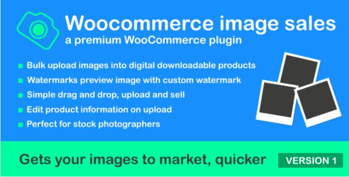 Продажа изображений Woocommerce