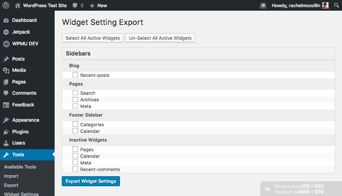 exportation-de-widgets