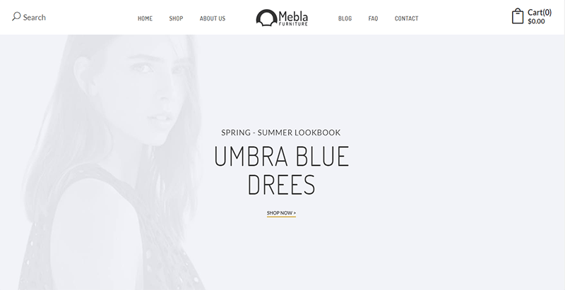 Mebla theme wordpress creer site web ecommerce