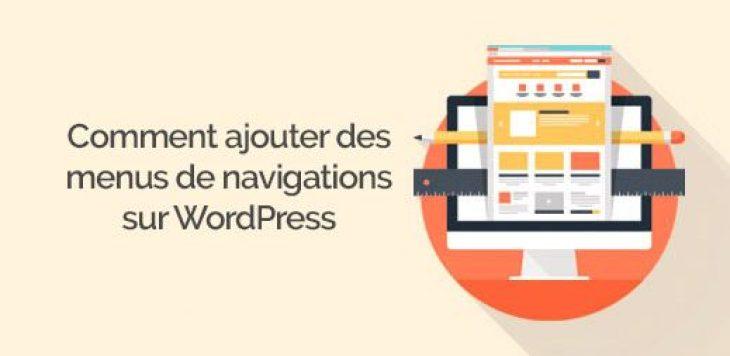 comment ajouter un menu de navigation personnalisé sur WordPress