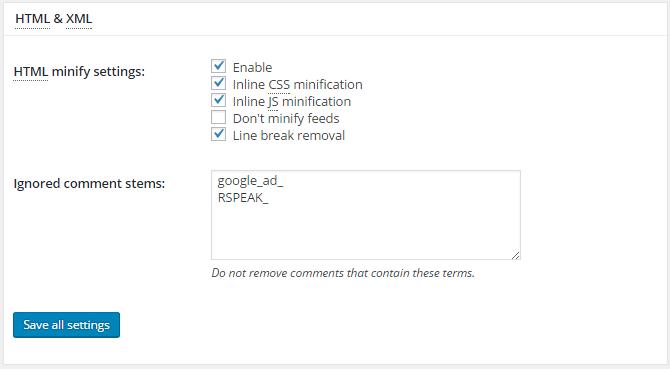 minify-html-w3tc