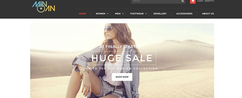 Минойской-темы-PrestaShop бутик-линейный режим-blogpascher