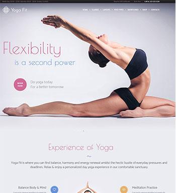 Yoga Fit – Un Thème WordPress Pour Club De Yoga