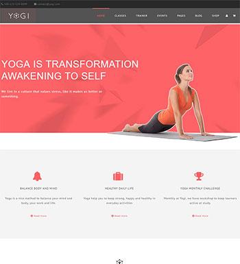Yogi – Un Thème WordPress Pour Club De Yoga