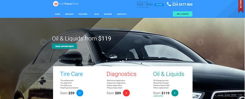 10 temas de WordPress para el sitio web mecánico automotriz ...