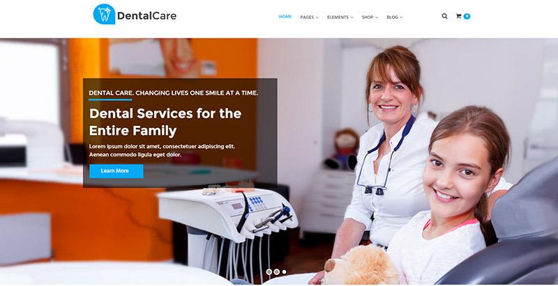 Temas de 10 WordPress para crear una clínica, un hospital, un sitio ...