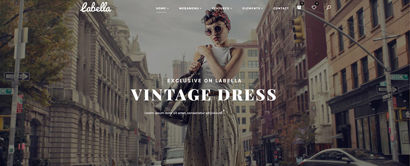 Labella theme wordpress creer site e commerce mode boutique en ligne habit
