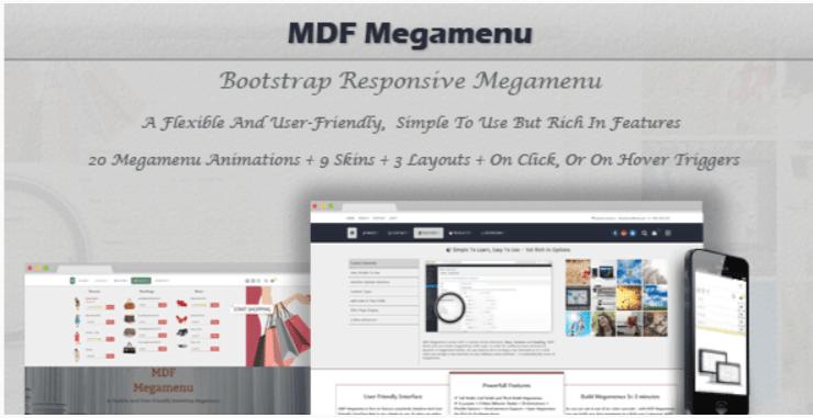 meilleurs plugins WordPress pour créer un megamenu sur un blog Mdf megamenu