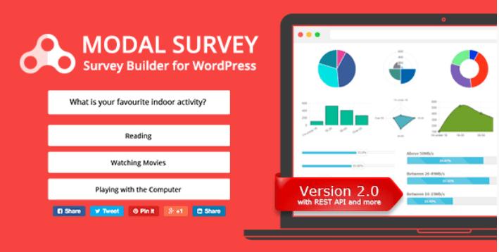 Modal survey wordpress poll survey quiz plugin