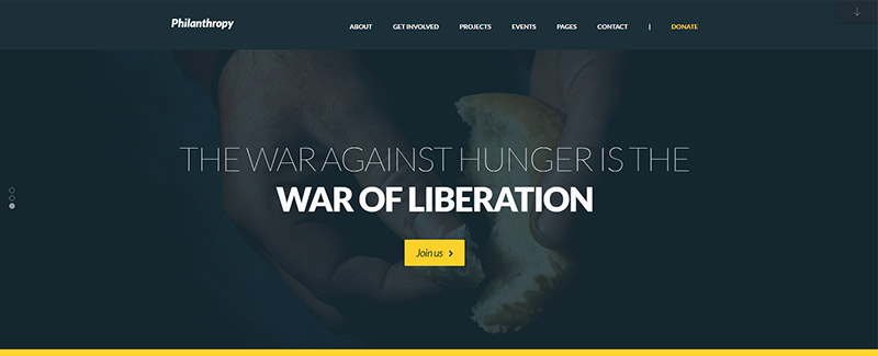 filantropi-tema-wordpress-situs-internet-kemanusiaan-ong