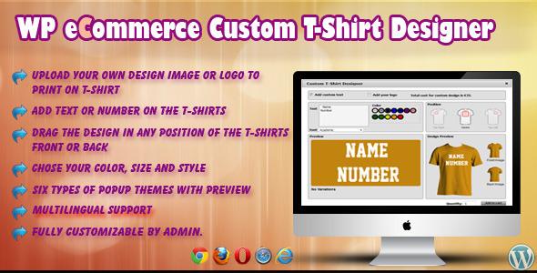 8 plugins wordpress pour personnaliser des produits sur for T shirt designer plugin