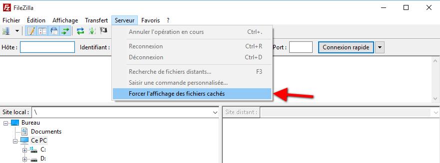 afficher-les-fichiers-cache-ftp-filezilla