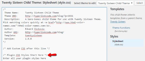 vários add-bloco-de-code-css-on-wordpress