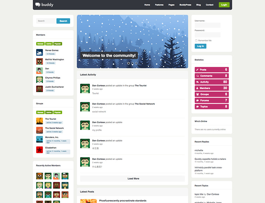 buddy-multipurpose-buddypress-theme