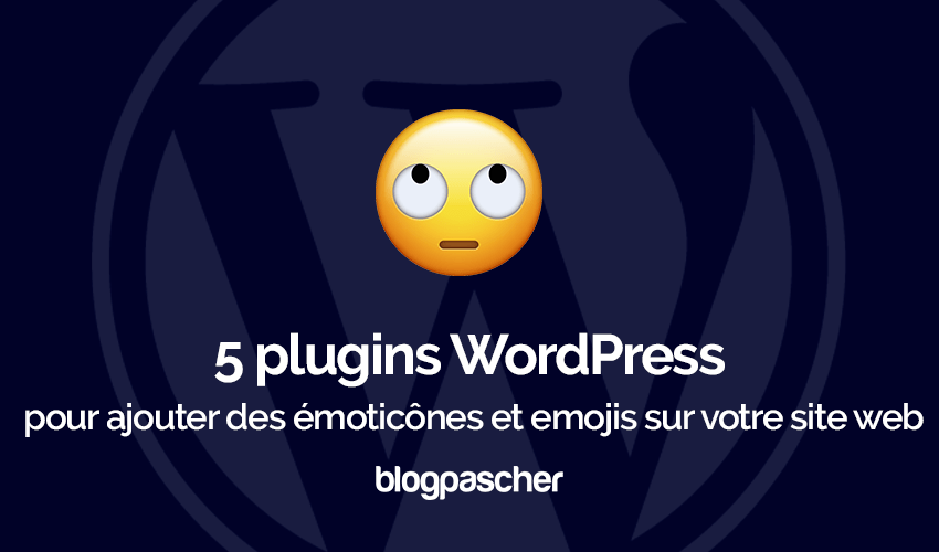 Plugins Wordpress Integrer Emoticones Emoji Blog Site Web