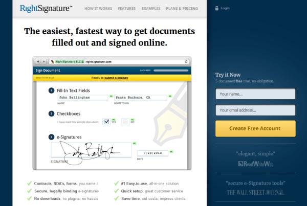 right-signature