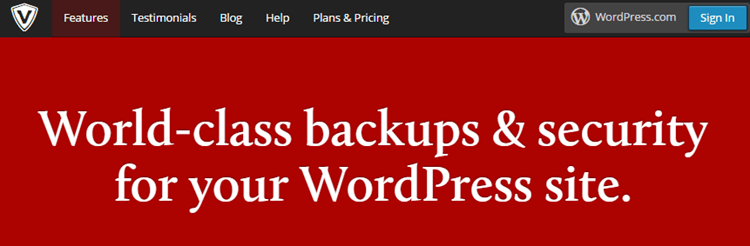 Backup-wordpress-VaultPress