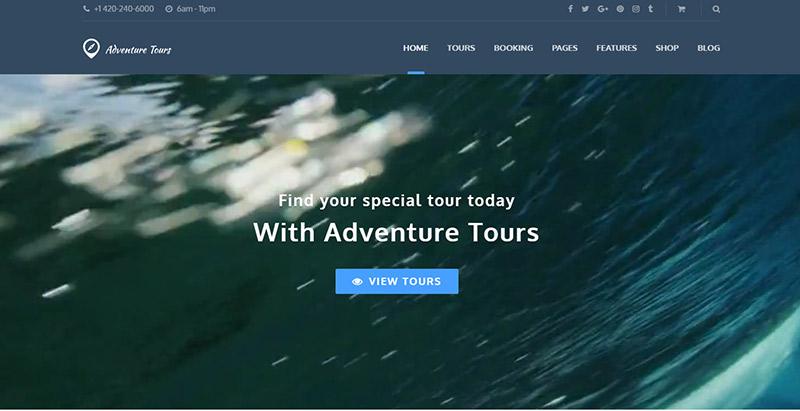 aventura-tours-temas-wordpress-criar-web-site-tour-operador-agência-trips