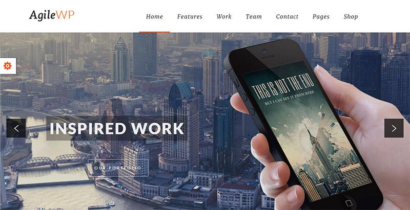 agile-themes-wordpress-creer-site-web-applications-mobiles