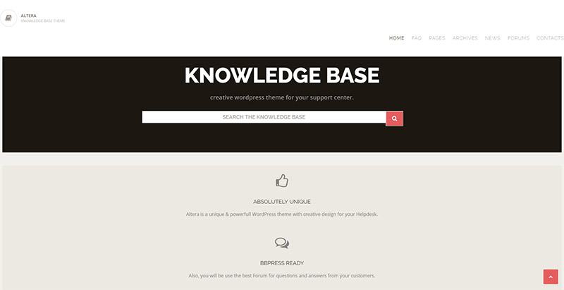 altera-base-themes-wordpress-creer-site-wiki-support-base-connaissance-faq