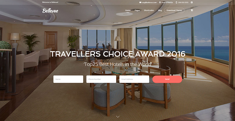 bellevuel-themes-wordpress-creer-site-internet-hotel-motel