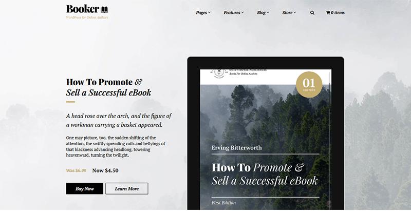 9 temas de WordPress para un sitio web de la biblioteca | BlogPasCher