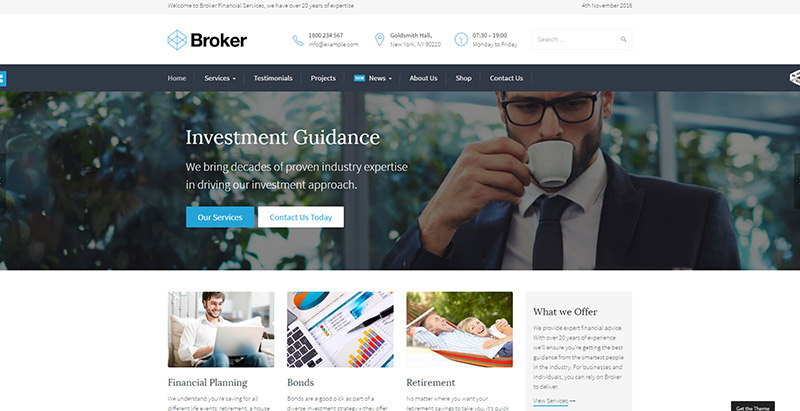 broker-themes-wordpress-creer-site-internet-entreprise-assurance-agence