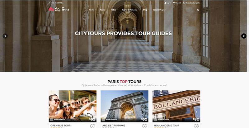 Citytours-temas-wordpress-criar-web-site-tour-operador-agência-trips