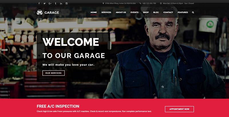 Garagem-temas-wordpress-criar-site-internet-mecânico