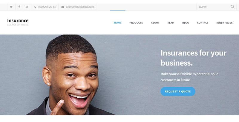 Versicherungsagentur-Themen-Wordpress-create-Site-Internet-Business-Versicherungsagentur