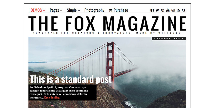 the-fox-tema-wordpress-membuat-situs-internet-majalah-berita-blog