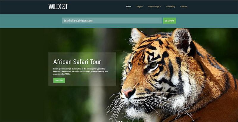 Wildcat-temas-wordpress-criar-web-site-tour-operador-agência-trips