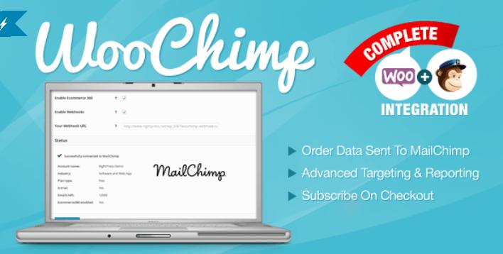 Woochimp woocommerce mailchimp integration