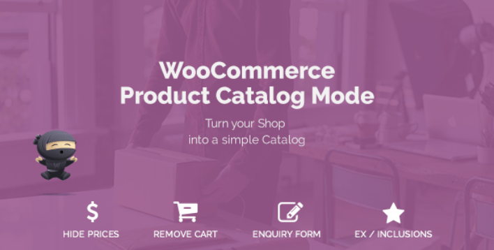 Woocommerce product catalog mode enquiry form