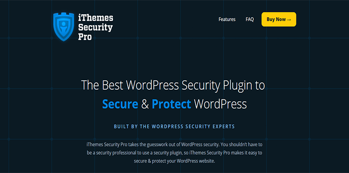 Wordpress security plugin ithemes security pro