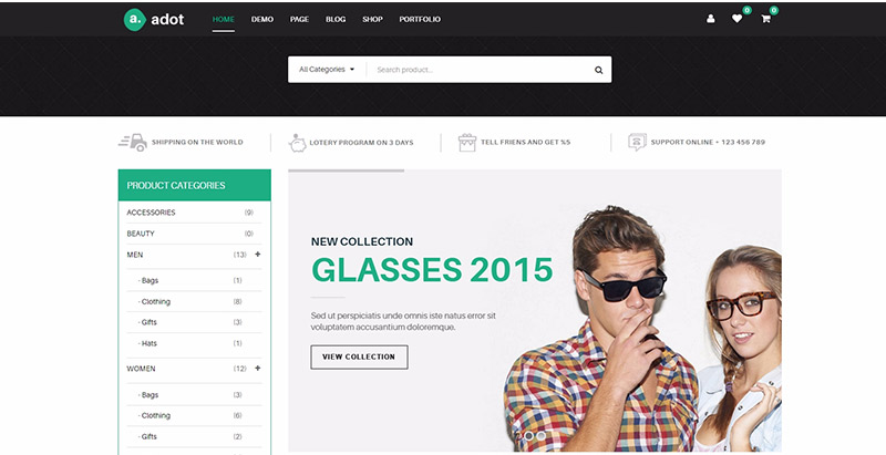 10 Wordpress-Themes eines Juweliers Website erstellen   BlogPasCher