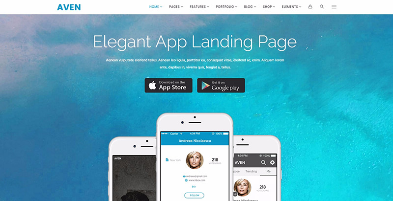 aven-10-themes-wordpress-creer-site-web-app-mobile-logiciel